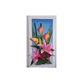 Cuadro Flores Cala 26 X 50 Cm