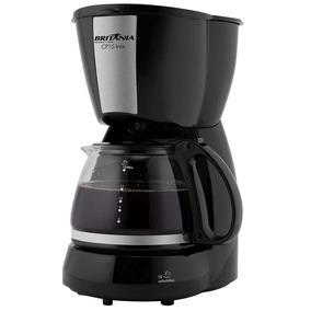 Cafeteira Elétrica Britânia Cp15 - Preto/inox 110v