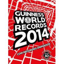Livro Guinness World Records 2014 Guinness Book