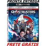 4k Ultra Hd + Bluray 2d/3d Ghostbusters 2016 Lacrado 3 Disco