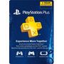 Playstation Plus 1 Año Codigo Americano Plus 12 Meses Ps4