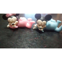 25 Souvenirs Minnie O Mickey + Central Bebe Porcelana Fria