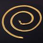 Collar De Oro 18k De Cadena De Serpiente U7
