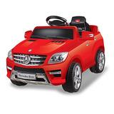 Mercedes Benz Carro A Bateria Mercedes Benz 7996 Rojo