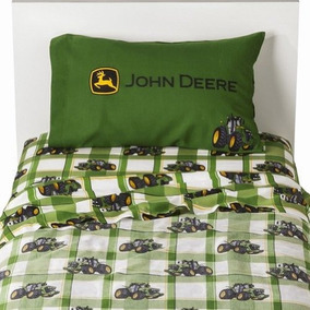 John Deere Tractor Agrícola De 3 Piezas Juego De Sábanas De