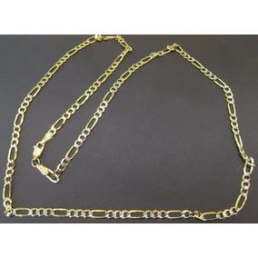 Cadena Cartier Diamantada Oro Macizo 14k 60cm. 25grs. Y 5mm.
