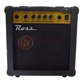 Amplificador Ross 15b De 15 Watts Para Bajo
