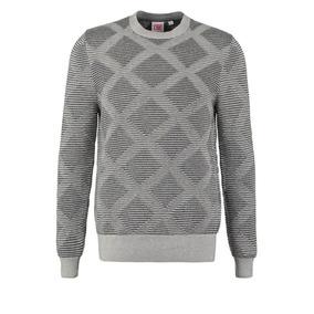 Lacoste Sweater Hombre, Cuello Redondo Tejido Hilo Ah9361