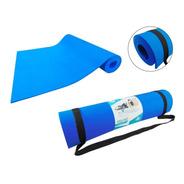 Tapete Yoga Mat Pilates De Eva Fomi Con Strap (150x56cm) 6mm