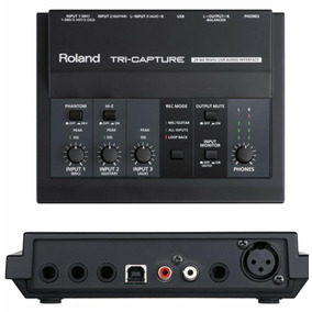 Interface Placa De Audio Roland Tri-capture