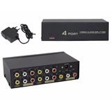 Amplificador Audio/video - 1 Entrada A 4 Salidas