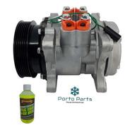 Compressor Ar Cond Santana Saveiro Gol G1 G2 Polia 6pk  Novo