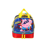 Lonchera Escolarpeppa Pig George Azul 56921 Jennyfer
