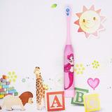 Escova De Dente Elétrica Infantil Menina Barbie Princesa