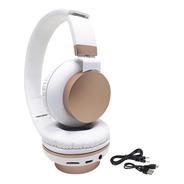 Auriculares Inalambrico Bluetooth Plegable Sd Usb Microfono
