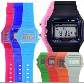 10 Relojes Mayoreo Digital Led Moda Hombre Mujer Niños A924