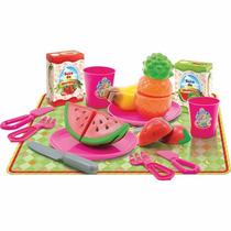 Brincando De Casinha - Cozinha - Salada De Frutas - Mercado