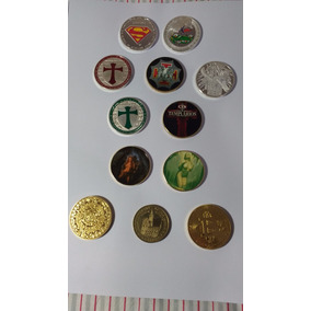 Coleçao De Moedas Medalhas Vários Temas