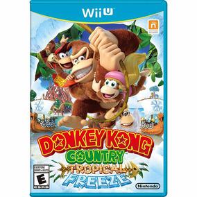 Donkey Kong Country: Tropical Freeze - Wii U - Mídia Física.