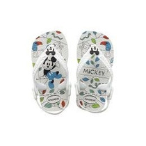 Ojotas Havaianas Niños Bebes Disney Mickey Nuevo Original