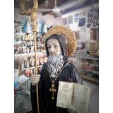 Imagen Religiosa - San Benito Abad 32 Cm