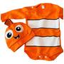disfraz Nemo pez pecesito disney manga larga con gorro gorrito