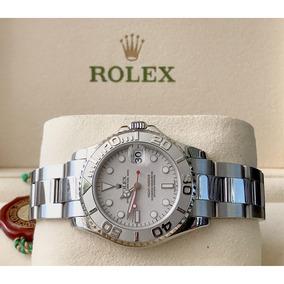f7e4d2ab0f6 Rolex Yatchmaster Aço E Platina - Joias e Relógios no Mercado Livre ...