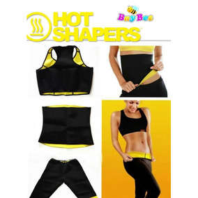 Super Combo Hot Shapers (chaleco+ Faja Moldeadora+ Pantalon)