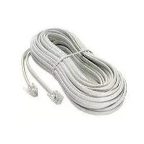 Cable Telefono 5 Metros Rj11 Blanco 4 Hilos Cabudare Lara