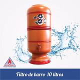 Filtro De Barro 10 Litros Com Vela Extra Brinde