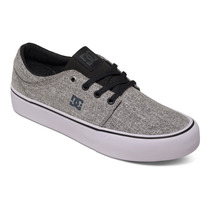Zapato Tenis Dama Mujer Trase Tx Se Bcg Negro Dc Shoes