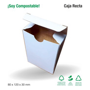 50 Estuche Blanco 8x12x3 Cm Cierre Galeno - Ecommerce