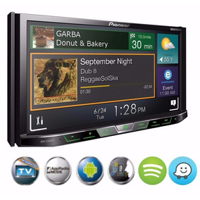 Dvd Player Pioneer Avh-x598tv Tv Digital + Moldura 2din Polo