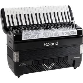 Roland Fr8x Bk V-accordion Promoção Ultimas Peças