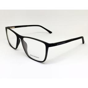 Armação Óculos Masculino Ea3601 Fibra De Carbono Super Leve