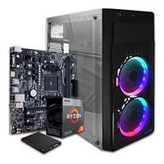Computadora Pc Cpu Gamer Ryzen 3 8gb Ssd 240gb Radeon Vega