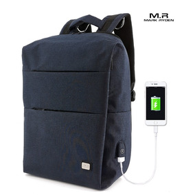 Mochila Antirrobo Usb Mark Ryden Laptop Impermeable
