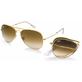 ray ban aviator marron degrade
