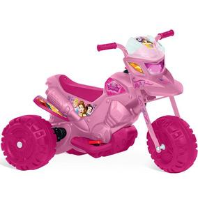 Moto Elétrica Princesas Disney 6v Bandeirante