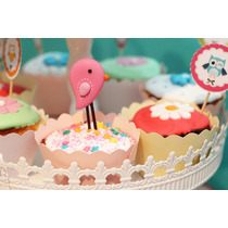 10 Wrappers Porta Cupcakes