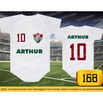 Body Ou Camisetas Times Fluminense Brasileiro Personalizado