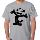 Camisa Camiseta Blusa Gato Félix Desenho Quadrinhos Tv