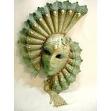 Mascara Veneziana Original Antiga Feita A Mão Decada 60