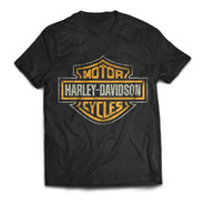 Camiseta Harley Davidson Motorcycles Motero Rock Activity