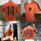 Camiseta Holanda 1974 Cruyff