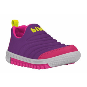 Bibi Tênis Roller Purple Pink Menina Nº 22 Ao Nº 26