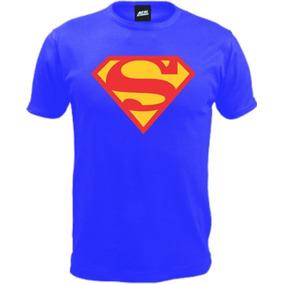 Remera Superman Ac Estampas