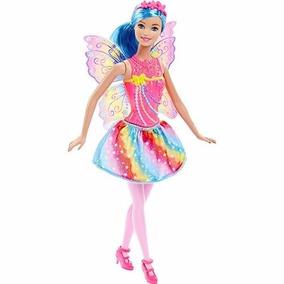 Boneca Barbie Fada Reino Mágico Dos Diamantes Mattel Dhm50