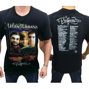 Camiseta De Banda - Legião Urbana - Perfeição Camisa De Rock