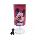 Luminária Abajur Mickey Mouse